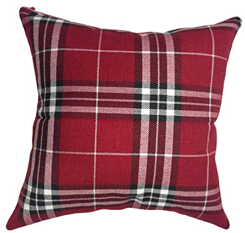 That's Perfect! Scottish Tartan Plaid Decorative Throw Pillow Sham - Fits 18