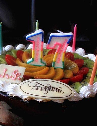 WXD velas de cumpleaños fiesta de los niños creativo digital ...