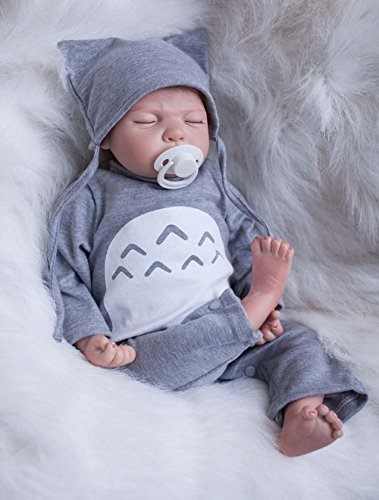 Realistic Newborn Baby Dolls Reborn Sleeping Premie Alive ready for (Baby Alive Costume)