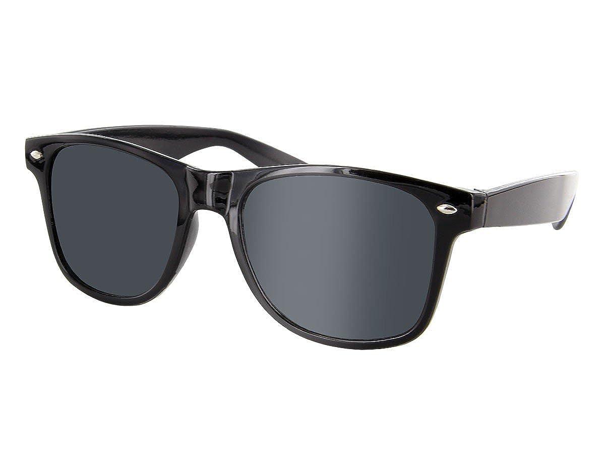 Alsino - Occhiali da sole - Donna Viper' stile nerd vari colori wayfarer alle:816 nero