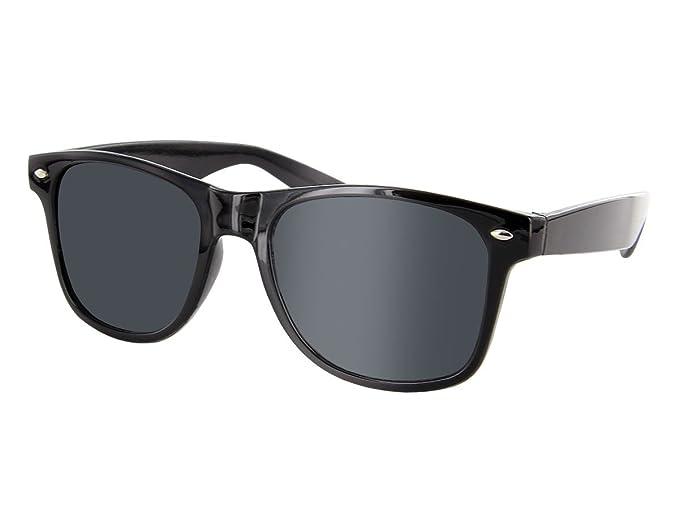 Wayfarer Style Sonnenbrille Retro Nerdbrille Blues Brothers Xx98V