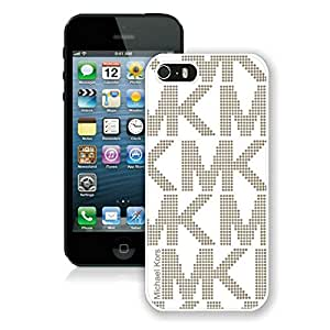 Fashion Custom Designed NW7I 123 Case M&K White iPhone 5s Generation Phone Case For Cell Phone Case A1 030