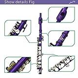 Andoer Piccolo Ottavino Half-size Flute Silver