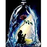 Noiacdo 5D Painting, Diamond Painting Full Drill Rhinestone Pictures of Crystals Embroidery Kits Arts, Crafts & Sewing…