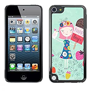 Dragon Case - FOR Apple iPod Touch 5 - roads untraveled - Caja protectora de pl??stico duro de la cubierta Dise?¡Ào Slim Fit