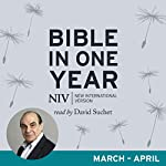 NIV Audio Bible in One Year (Mar-Apr): Read by David Suchet |  New International Version