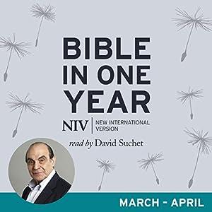 NIV Audio Bible in One Year (Mar-Apr) Audiobook