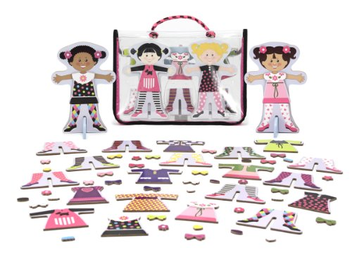 Melissa & Doug Tops and Tights Magnetic Dress-Up