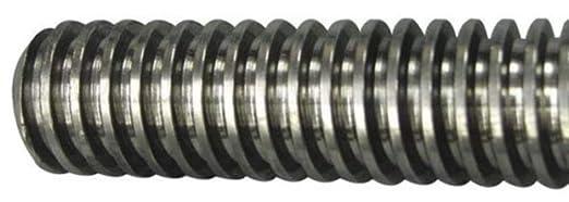 3 4 6 X 3 Plain Low Carbon Steel Acme Threaded Rod 24304 Amazon Com Industrial Scientific