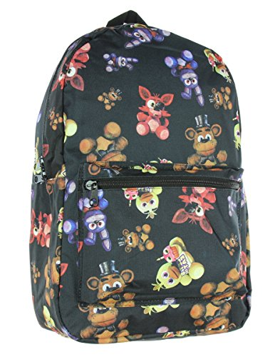 bioWorld Five Nights at Freddy's Freddy/Foxy/Chica/Bonnie Toss Backpack