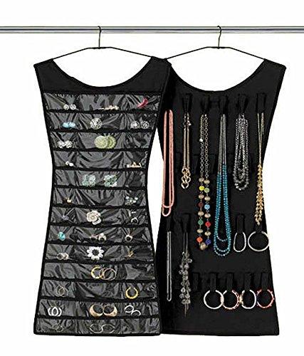 Umbra Little Black Dress Hanging Jewellery Storage Organiser ...