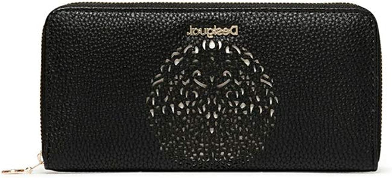 Desigual Mone Tribal Zip Around - Cartera para Mujer, Color