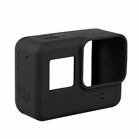 5bad7e2d6b251 Capa Case Protetora Silicone Para Câmeras GoPro Hero 6 Black e Hero 5 Black