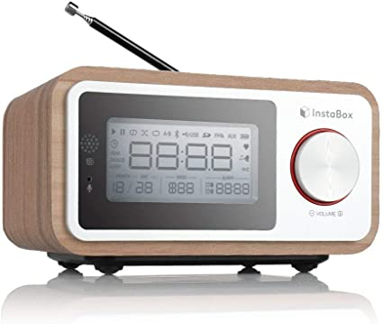Digitaler Funk-Wecker mit großer LCD-Anzeige RC 868