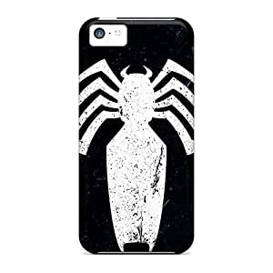 New Style Tpu 5c Protective Case Cover/ Iphone Case - Venom Logo by lolosakes