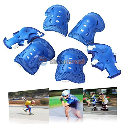 Evaric Elbow Knee Wrist Protective Guard Safety Gear Pad Skate Bicycle for Children Kid