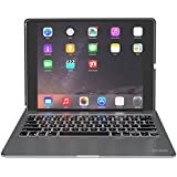 ZAGG Slim Book Ultrathin Case, Hinged with Detachable Bluetooth Keyboard for Apple iPad Pro 12.9 - Black