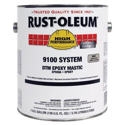 Rust-Oleum Navy Gray Epoxy Mastic Coating, Semi-Gloss Finish, 125 to 200 sq. ft./gal. Coverage, Size: 1 gal. ()