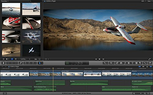 Final Cut Pro X interface