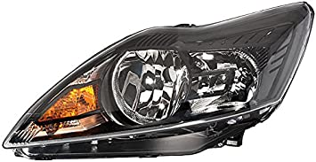 Rechts Ohne Kurvenlicht mit Stellmotor f/ür LWR HELLA 1EE 354 257-041 Halogen Hauptscheinwerfer