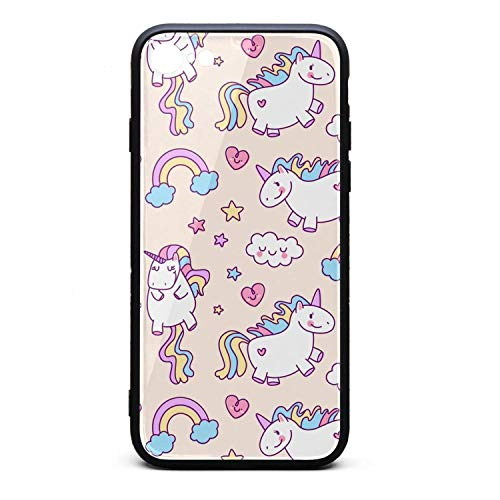 PPLYS iPhone 6/6s Plus Case Back to School Smile Unicorn Slim Anti-Scratch Shockproof Protection Flexible TPU Bumper Phone Case Cover iPhone 6S Plus Case [5.5 -