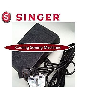 Pedal de control original Singer para máquina de coser con enchufe de 3