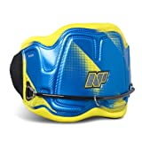 NP Surf Mirage Easy Release Kite Waist Harness, Blue/Yellow, Large