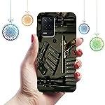 CASEARTIST Realme 8 5G Cover – Solidde finition & Facts britannica Designer Printed Slim Back Case Cover for Realme 8 5G