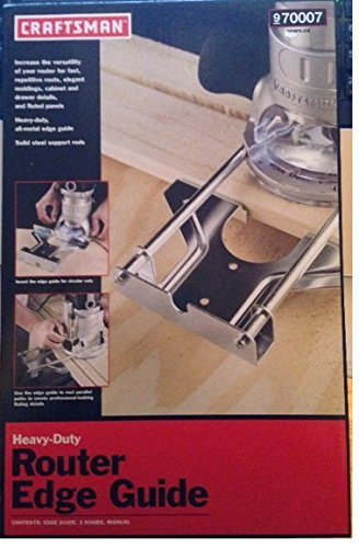 Craftsman Heavy Duty Router Edge Guide (970007)