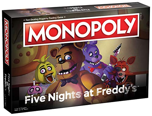 USAOPOLY Monopoly Five Nights at Freddy's Board Game | Based on Five Nights at Freddy's Video Game | Officially Licensed…
