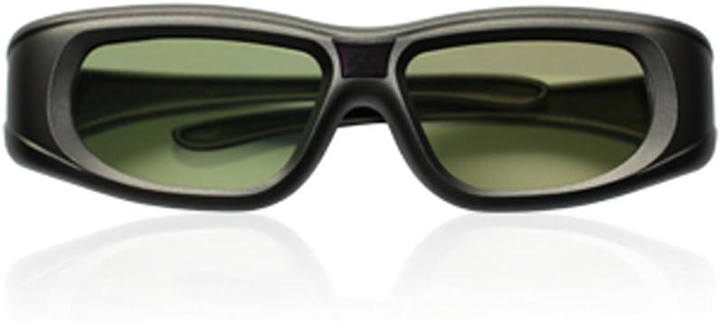 Ultra (TM) adultos activo obturador Universal 3D gafas negro color soporte infrarrojo y Bluetooth TV Samsung Panasonic Sony Sharp Philips Mitsubishi Epson LG: Amazon.es: Electrónica