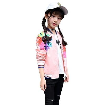 Free Fisher Veste Enfant Fille Vêtement de Sport Loisirs Cotton
