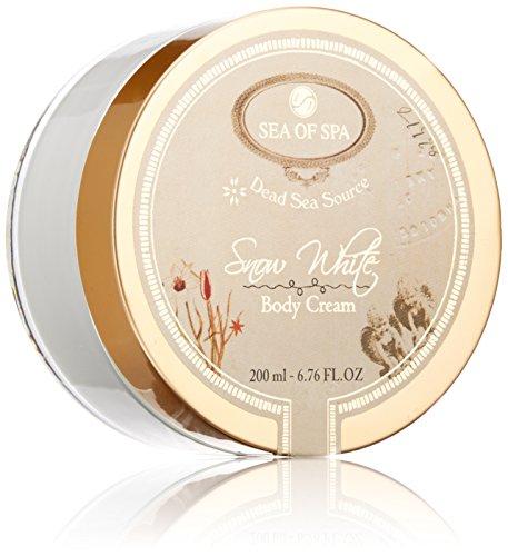 Sea of Spa Snow White - Body Cream, 6.76 fl oz (White Cream Spa)