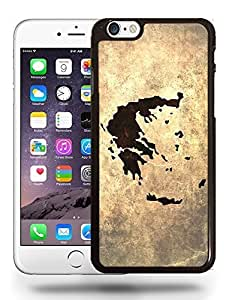 Greece National Vintage Country Landscape Atlas Map Phone Case Cover Designs for iPhone 6