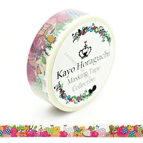 - Kayo Horaguchi Japanese Washi Masking Paper Tape / Alpaca [ HKZMK-9]