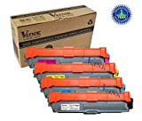 Compatible Brother 4 PACK TN221(1K1C1M1Y) Toner cartridge for Brother HL-3140CW,HL-3170CDW,MFC-9130CW,MFC-9330CDW,MFC-9340CDW, Office Central