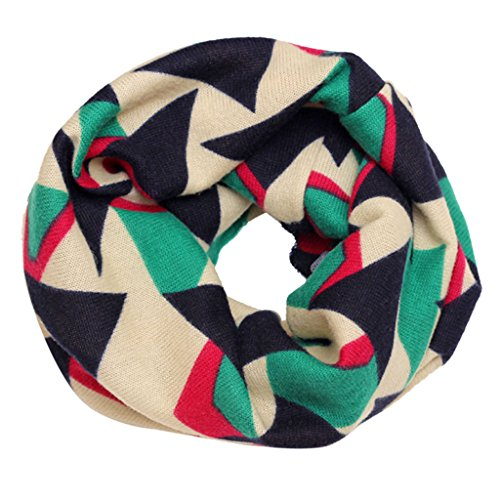 TAORE Fashion Multicolor Children Cotton Scarf Kids Winter Warm Neckerchief (Beige)