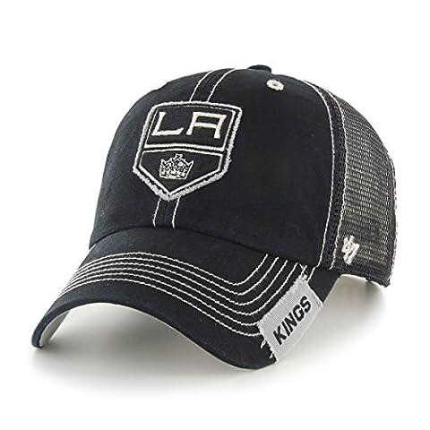 NHL Los Angeles Kings Turner Clean Up Hat, One Size, Black (Los Angeles Kings Hat 47)