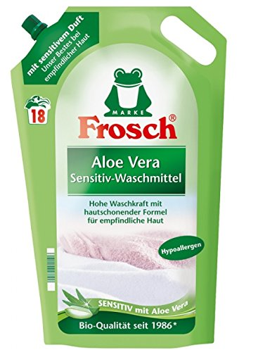 Compartimento interior un detergente para ropa de Aloe Vera líquido 2er Juego de Cartuchos de,