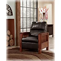 High Leg Recliner - Chocolate