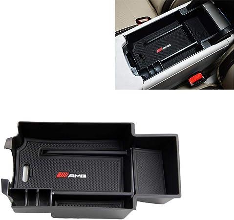 Per B enz GLA CLA Class A//B Storage Box Braccioli Con Tappetino Antiscivolo Scatola del Bracciolo Vano Portaoggetti Secondario da Bracciolo