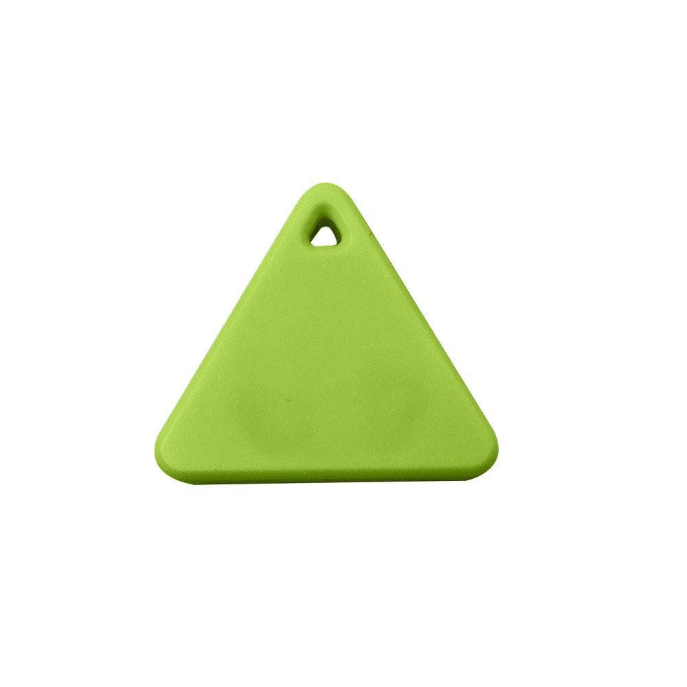 Tpingfe Bluetooth Smart Mini Tag Tracker, Pet Child Wallet Key Finder GPS Locator Alarm (Green)