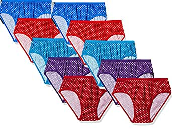 FIMS - Fashion is my style Women's Cotton Panties (Pack of 6)