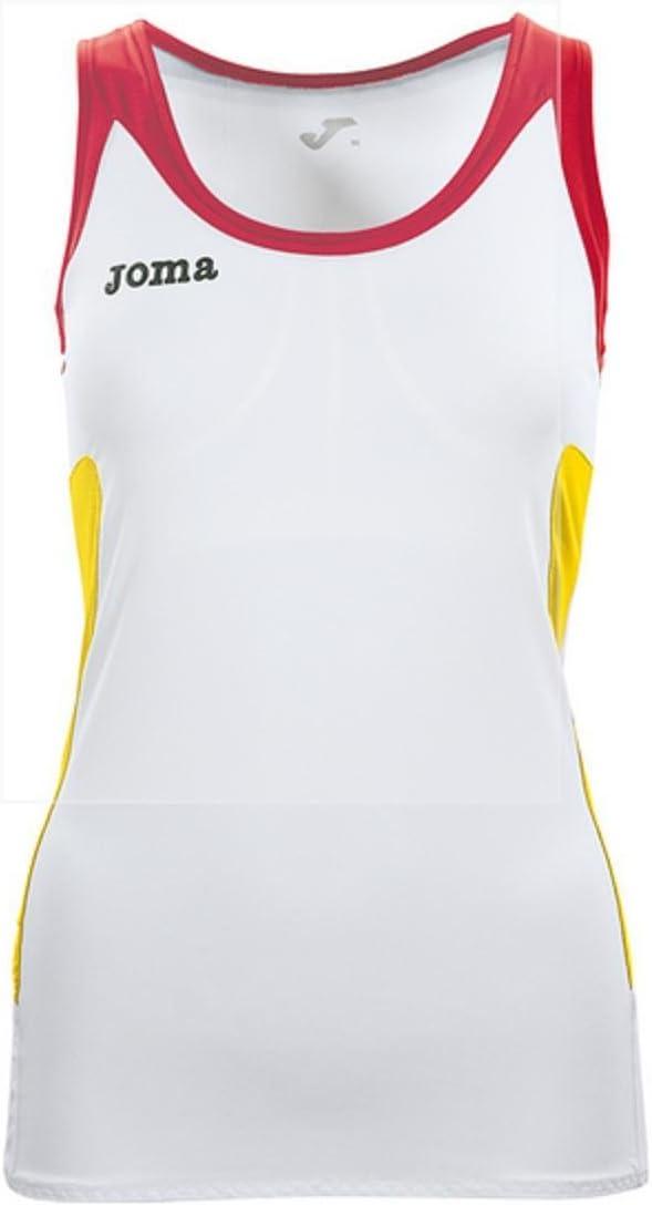 Joma Padel camiseta tirantes mujer, talla xl: Amazon.es: Deportes ...