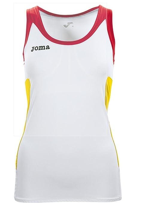 Joma Padel camiseta tirantes mujer, talla m: Amazon.es: Deportes y ...