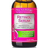 Super Retinol Serum 2.5% w/Hyaluronic Acid – Professional Grade – Anti Aging Face