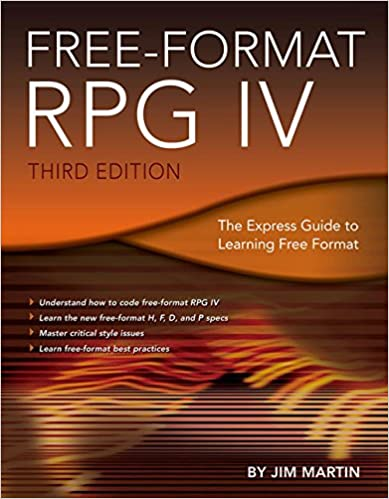 free format rpg iv the express guide to learning free format jim