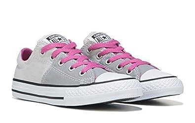 b4d1e6be5e6b Amazon.com | Converse CTAS Madison OX Youth Girls Walking Shoes Grey ...