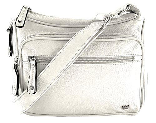- Purse King Magnum White/French Vanilla Concealed Carry Handbag
