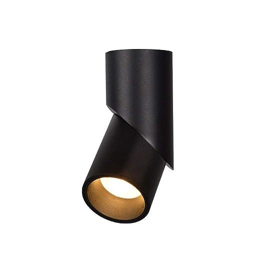 Pinjeer Montaje En Superficie Proyector LED Ajustable De 360 ° Luz ...